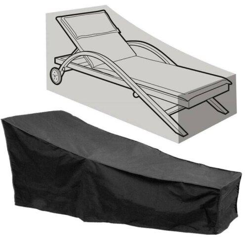 Heavy Duty Waterproof Sun Lounger Sunbed Garden Furniture Cover Patio Rattan