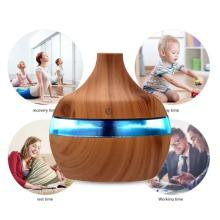 Colorful Light Wood Grain Aromatherapy Humidifier