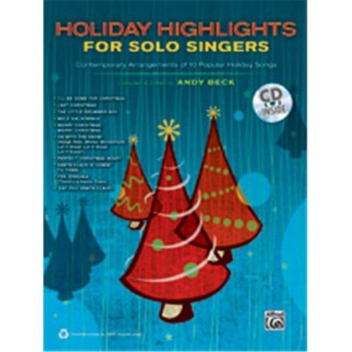 Alfred 00-37948 HOLIDAY HIGHLIGHTS SOLO SING-BK&CD