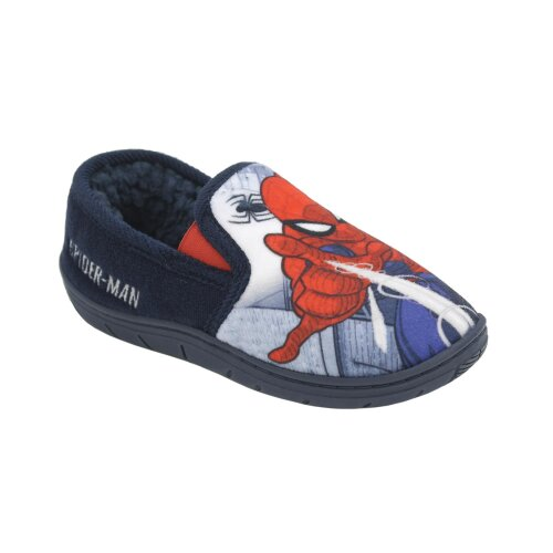 (UK 8) Childs Spiderman Serdan Slippers