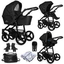 Venicci Shadow 3 in 1 Travel System 9 Piece Bundle / Package - Starlight