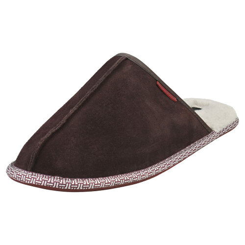 (7) Ted Baker Peterr Mens Slippers Shoes in Brown
