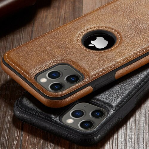 Luxury Business Leather Stitching  Case Cover