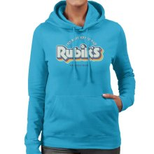 Rubik's The Best Retro Dad Women's Hooded Sweatshirt