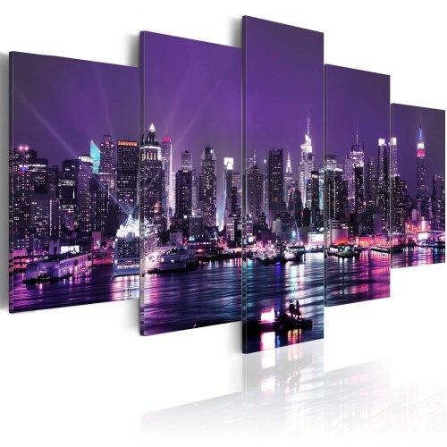 Canvas Print - Purple Sky