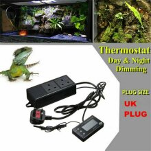 Digital Reptile Thermostat Day & Night Dimming +Timer philipniceguyexotics
