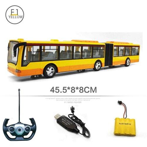 2.4GHz Tourist Radio Remote Control LED Bus