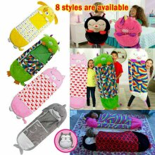Happy Child Nappers Sleeping Bag Kids Gifts Play Pillow