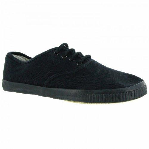 Girls Canvas Pumps Shoes Trainers Size 10 12 2