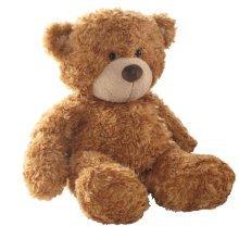 """13"""" Brown Bonnie Bear Soft Toy - Aurora Teddy 13inch -  aurora bonnie teddy bear brown 13inch"""