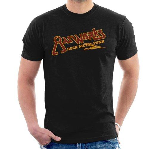 Gasworks Rock Metal Punk Waynes World Men's T-Shirt
