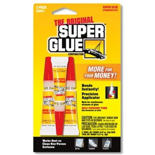 Super Glue- 12 Triple Packs