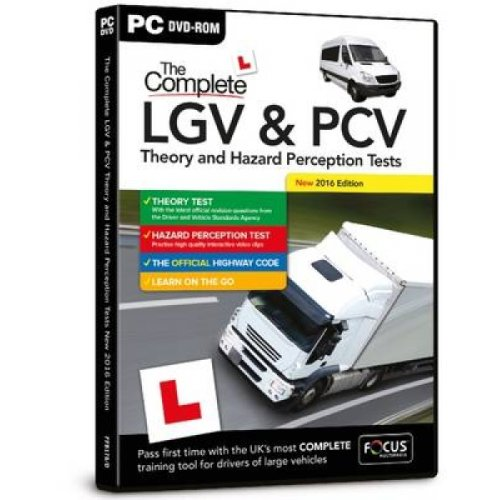 Complete LGV  PCV Theory and Hazard Perception Tests