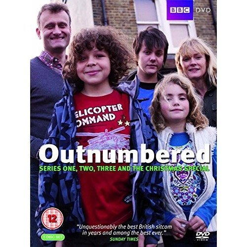 Outnumbered Series 1 to 3 DVD [2010]