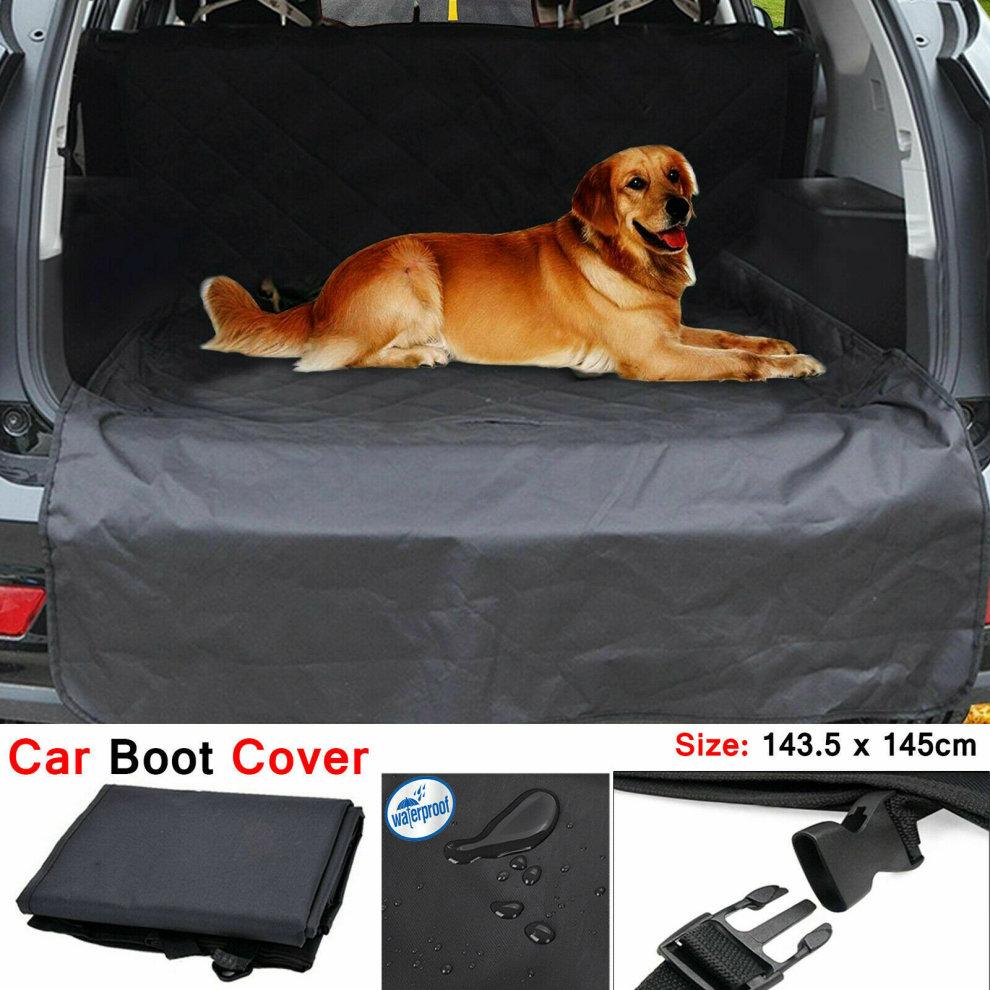 Waterproof Heavy Duty Dog Cat Car Boot Liner Bumper Dirt Pad Pet Cover Mat UK