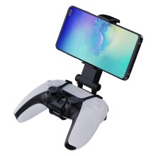 Smartphone Clip and Tabletop Gaming Stand for Playstation 5 PS5 Controllers