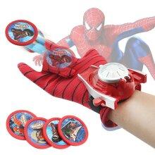 Marvel Avenger SuperHero Wrist transmitter Glove Web Shooter Spiderman