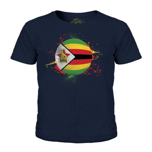 Candymix - Zimbabwe Football - Unisex Kid's T-Shirt