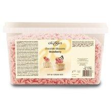Callebaut strawberry chocolate blossoms (curls)