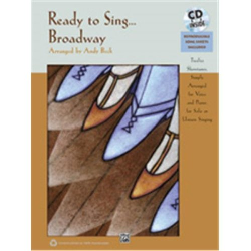 Alfred 00-35810 READY TO SING BROADWAY-BK&CD