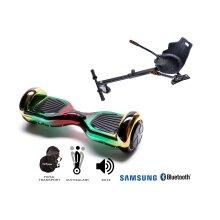 Package Smart Balance Hoverboard 6.5 inch, Regular California + Hoverkart, Motor 700 Wat, Bluetooth, LED