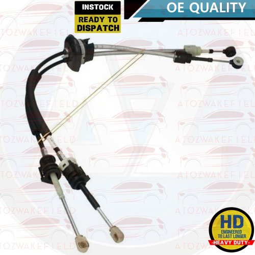 FOR FIAT SCUDO PEUGEOT 807 EXPERT CITROEN C8 DISPATCH NEW GEAR CABLE LINKAGES