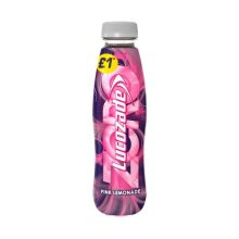 Lucozade Zero Pink Lemonade (24 x 380ml)