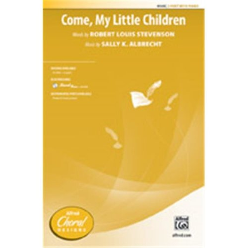 Alfred 00-41546 COME MY LITTLE CHILDREN-STRX CD