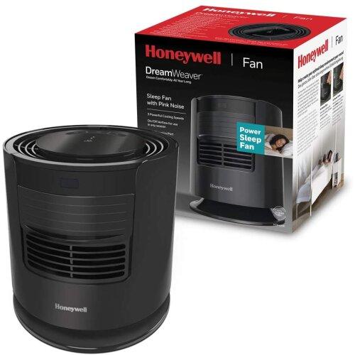 Honeywell HTF400E Dream Weaver Sleep Fan Pink Noise USB Charging