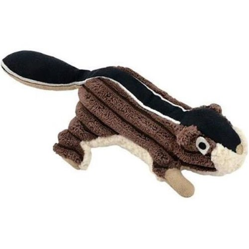 Tall Tails 88216259 Squeaker Chipmunk Dog Toy, Brown - 5 in.