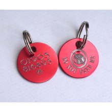 Do not feed cat Id tag with free engraving