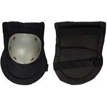 SE GP322KPB Knee Pads with Plastic Caps, Black and Grey