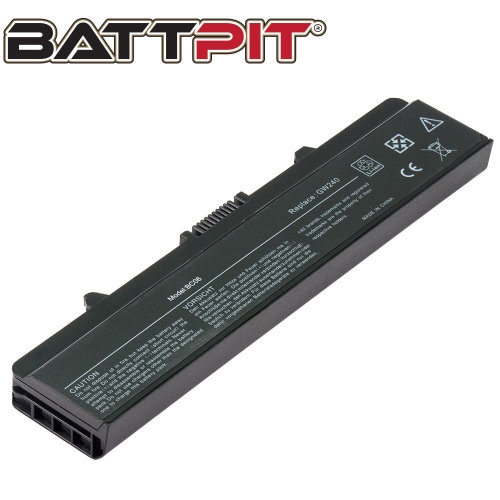 BattPit Battery for Dell Inspiron 1525 1526 1545 1546 PP29L M911G RN873 0XR682 GW240 GP952 X284G 10.8 / 11.1V [6-Cell/49Wh]