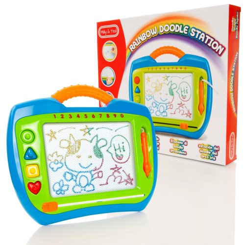Milly & Ted Rainbow Doodle Station