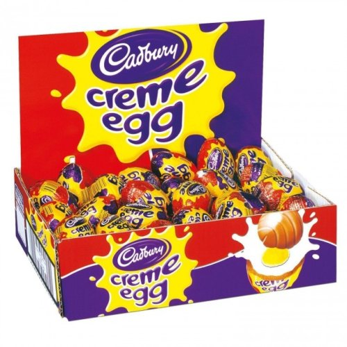 Full Box of 48 Cadbury Creme Eggs