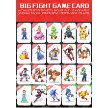 20PCS Full Set NFC PVC TAG CARD for Super Smash Bros. NS Switch WII U