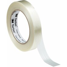 3M Tartan Reinforced Glass Filament Tape 12mm x 50m Strong Strapping 8954