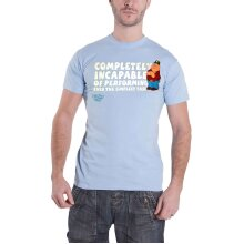 Official Family Guy T Shirt Peter Griffin Completely Incapable new Mens Blue