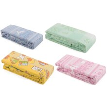 Pack of 2 Printed Cot Flannelette Sheets