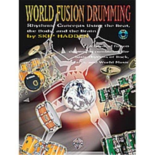Alfred 00-0584B WORLD FUSION DRUMMING BK&CD