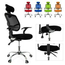 Computer Office Chair Adjustable Swivel Recliner