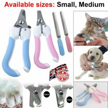 Dog Cat Nail Paw Claw Clippers Filer Scissors Toe