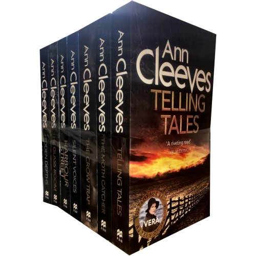 Ann cleeves TV VERA Stanhope Series 7 books set