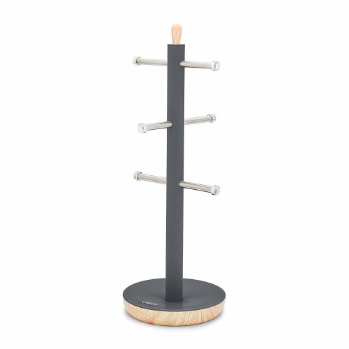 Tower T826032G Kitchen Mug Tree, Scandi Range, Grey
