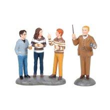 Harry Potter Professor Slughorn and The Trio Mini Figurine