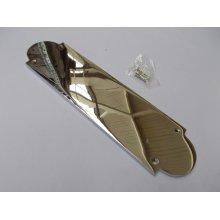 Regency Polished Chrome Finger Plate