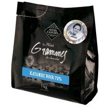 Michel Cluizel, Kayambe Noir, 72% dark chocolate couverture chips