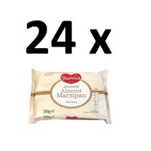 24 x Shamrock Almond Marzipan Cake Coating 250g FULL CASE BBE 20/11/20 BARGAIN