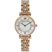 Emporio Armani Gianni T-Bar Ladies Watch AR1909 New with Tags 2 Years Warranty