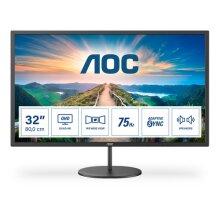 """AOC V4 Q32V4 computer monitor 80 cm (31.5"""") 2560 x 1440 pixels 2K Ultra HD LED Black"""